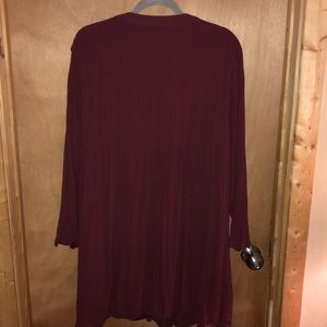 Old Navy Tops - Long maroon tunic. Xxl